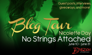 No Strings Attached Blog Tour – Interview with Nicolette Day!