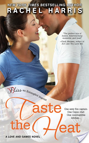 Review: Taste the Heat by Rachel Harris